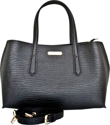 Leatherbay Leatherbay Patria Tote Black - Leatherbay Leather Handbags