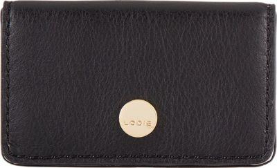 Lodis Downtown RFID Mini Card Case Black - Lodis Women's Wallets