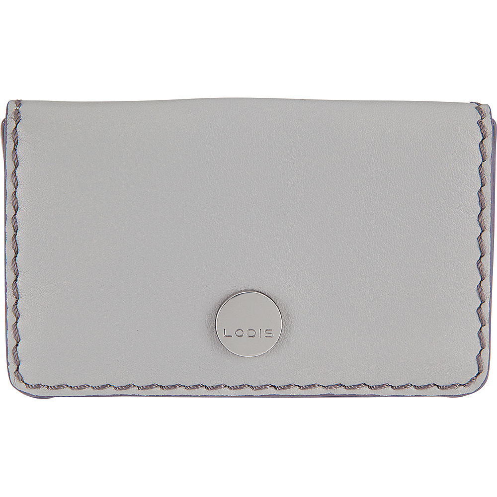 Lodis Downtown RFID Mini Card Case Cement/Lava - Lodis Womens Wallets - Women's SLG, Women's Wallets