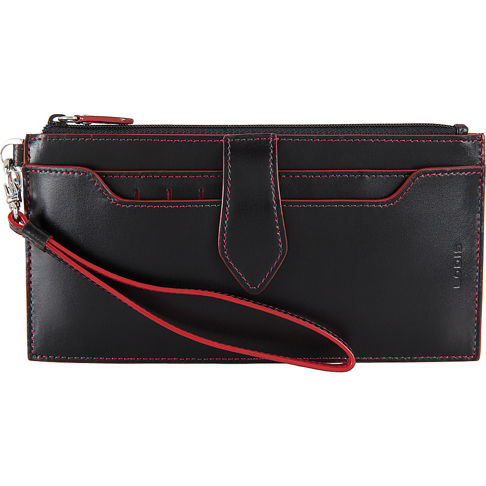 Lodis Audrey RFID Queenie Wallet With Removable Card Case Black - Lodis Womens Wallets - Women's SLG, Women's Wallets