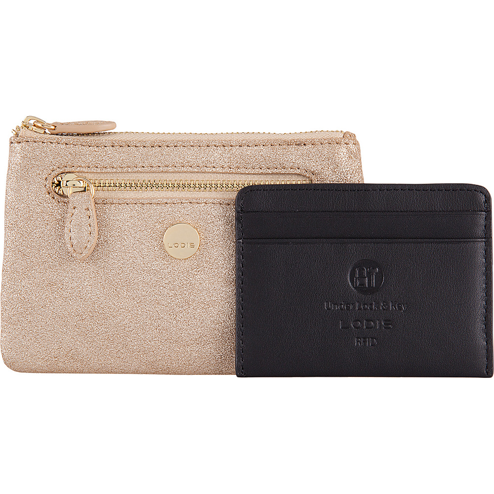 Lodis Romance RFID Bev Card Key Coin Gold - Lodis Womens Wallets - Women's SLG, Women's Wallets