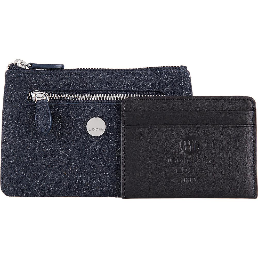 Lodis Romance RFID Bev Card Key Coin Midnight - Lodis Womens Wallets - Women's SLG, Women's Wallets