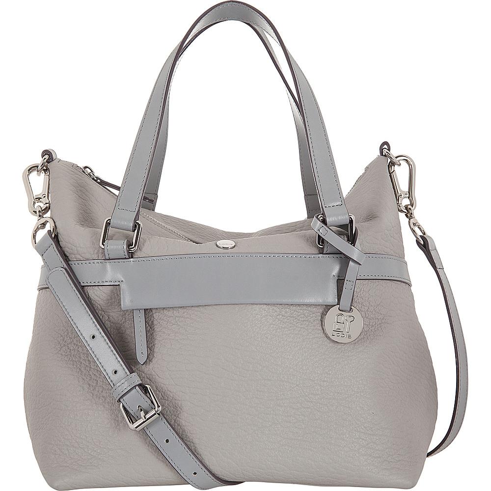 Lodis In The Mix RFID Miriam Satchel Crossbody Cement - Lodis Leather Handbags - Handbags, Leather Handbags