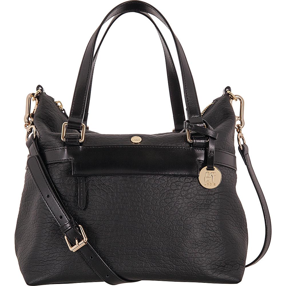 Lodis In The Mix RFID Miriam Satchel Crossbody Jet - Lodis Leather Handbags - Handbags, Leather Handbags