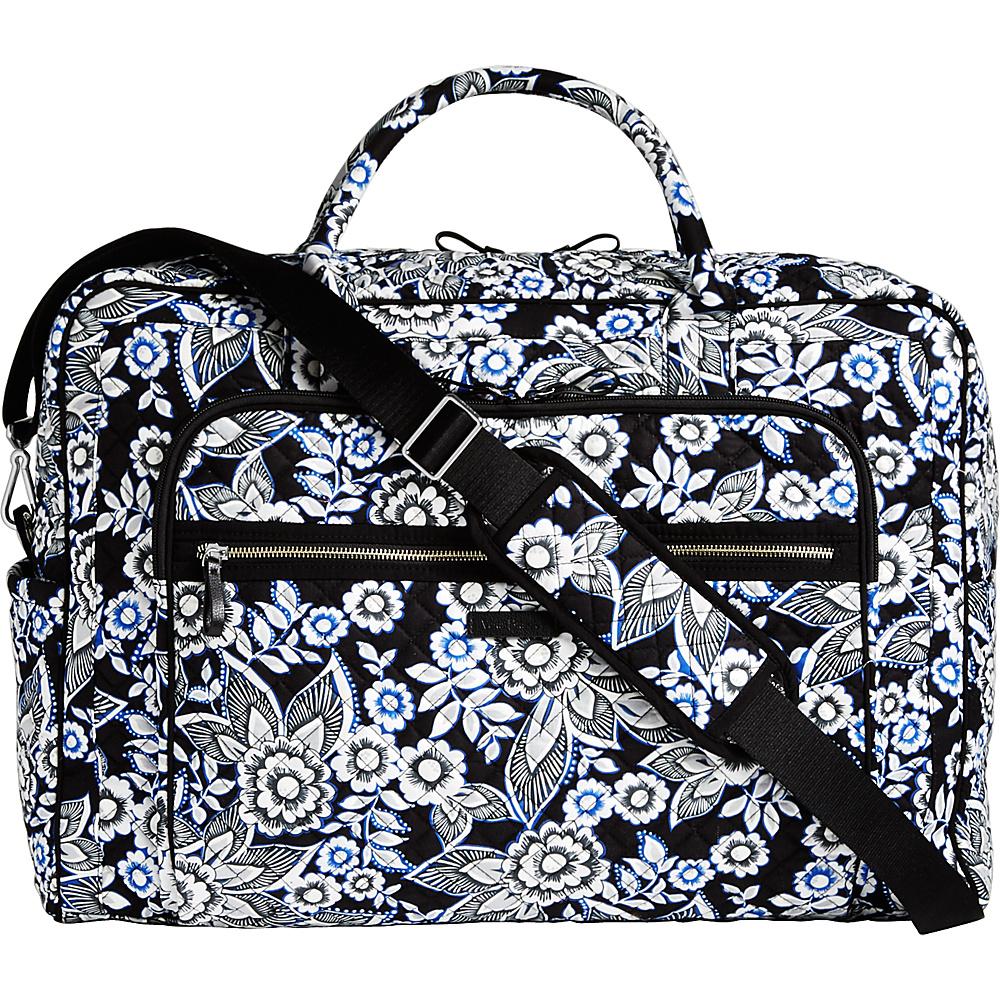 Vera Bradley Iconic Grand Weekender Travel Bag Snow Lotus - Vera Bradley Travel Duffels - Duffels, Travel Duffels