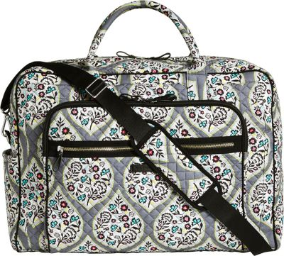 Vera Bradley Iconic Grand Weekender Travel Bag Heritage Leaf - Vera Bradley Travel Duffels