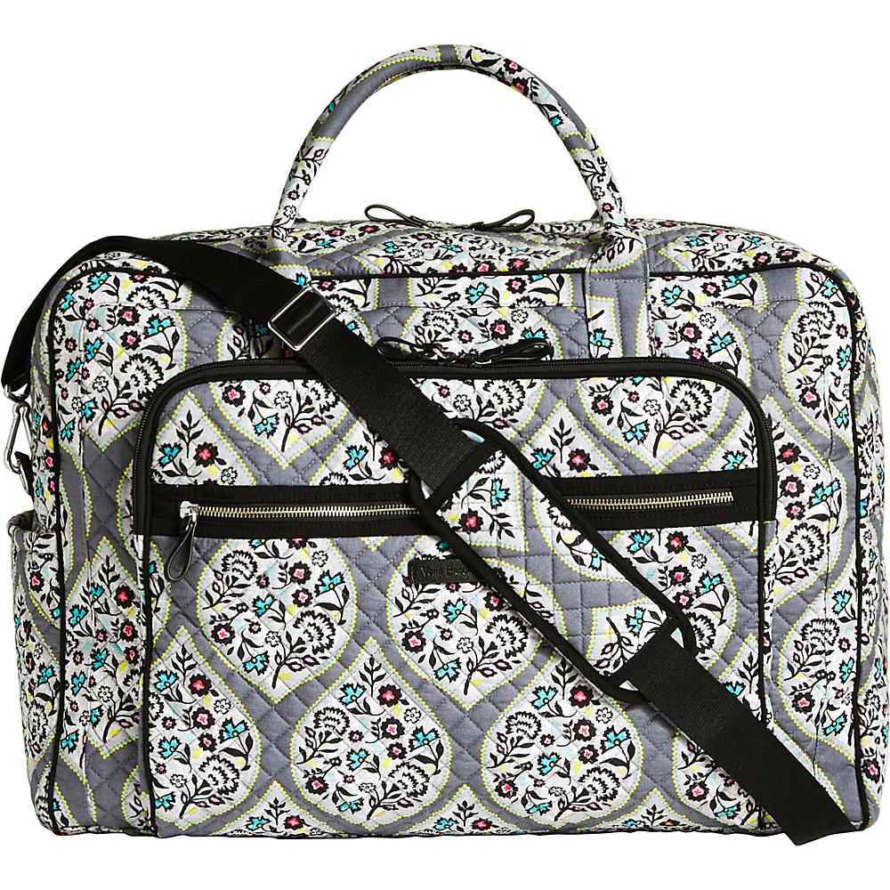 Vera Bradley Iconic Grand Weekender Travel Bag Heritage Leaf - Vera Bradley Travel Duffels - Duffels, Travel Duffels