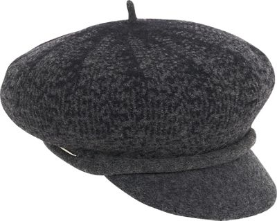 Adora Hats Multi Color Soft Wool Newsboy One Size - Black - Adora Hats Hats/Gloves/Scarves