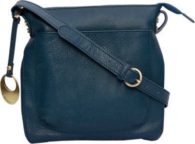 Phive Rivers Top Zip Crossbody Teal - Phive Rivers Leather Handbags