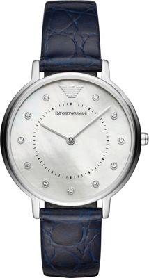 Emporio Armani Women's Dress Watch Blue - Emporio Armani Watches