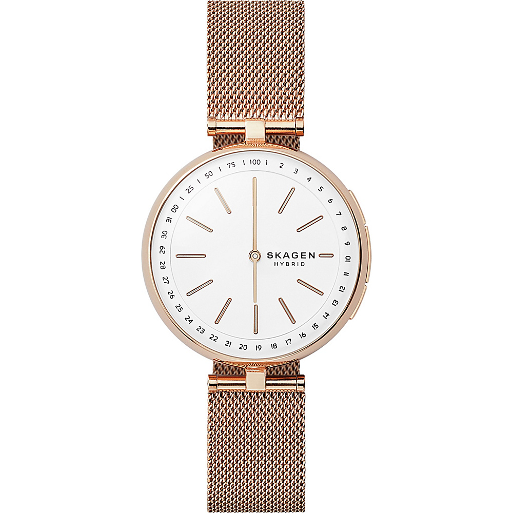 Skagen Signatur Connected Hybrid Watch Rose Gold - Skagen Wearable Technology