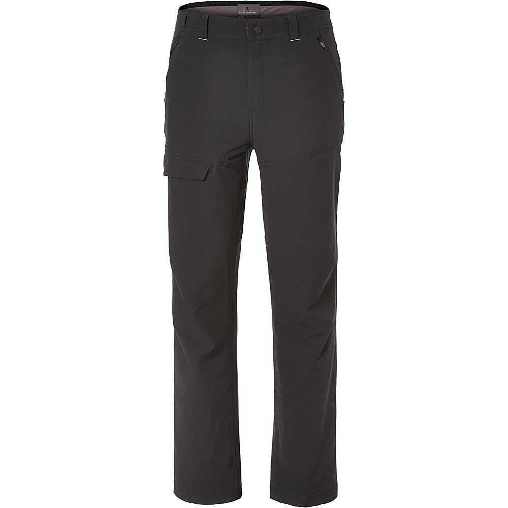 Royal Robbins Mens Range Pant 30 - Jet Black - Royal Robbins Mens Apparel - Apparel & Footwear, Men's Apparel