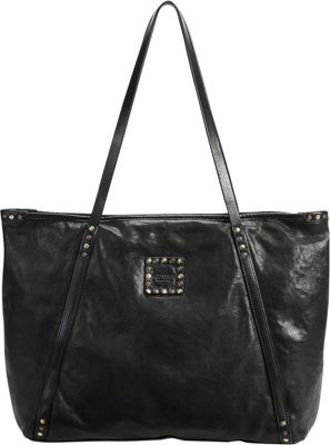 Old Trend Old Trend Rose More Tote Black - Old Trend Leather Handbags