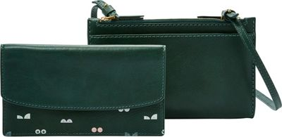 Fossil Sage Mini Bag Alpine Green - Fossil Leather Handbags