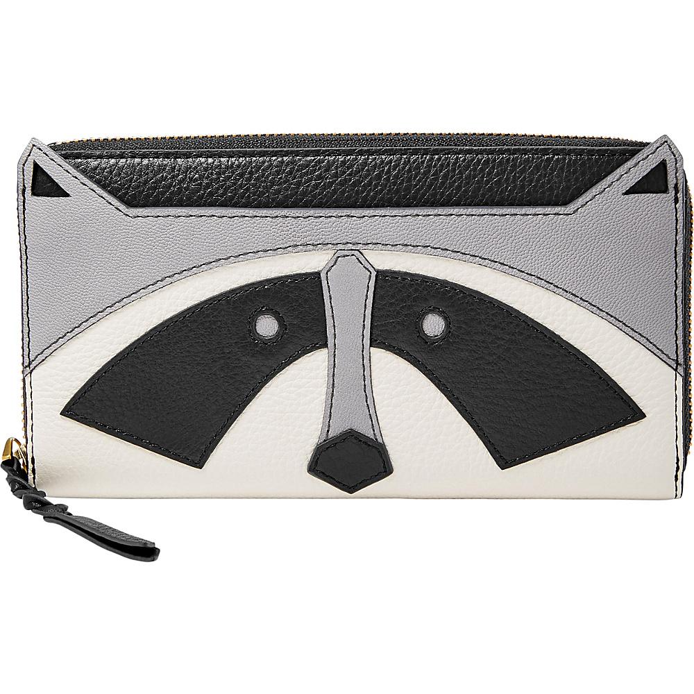 Fossil Caroline RFID Zip Around Wallet Grey - Fossil Womens Wallets - Women's SLG, Women's Wallets
