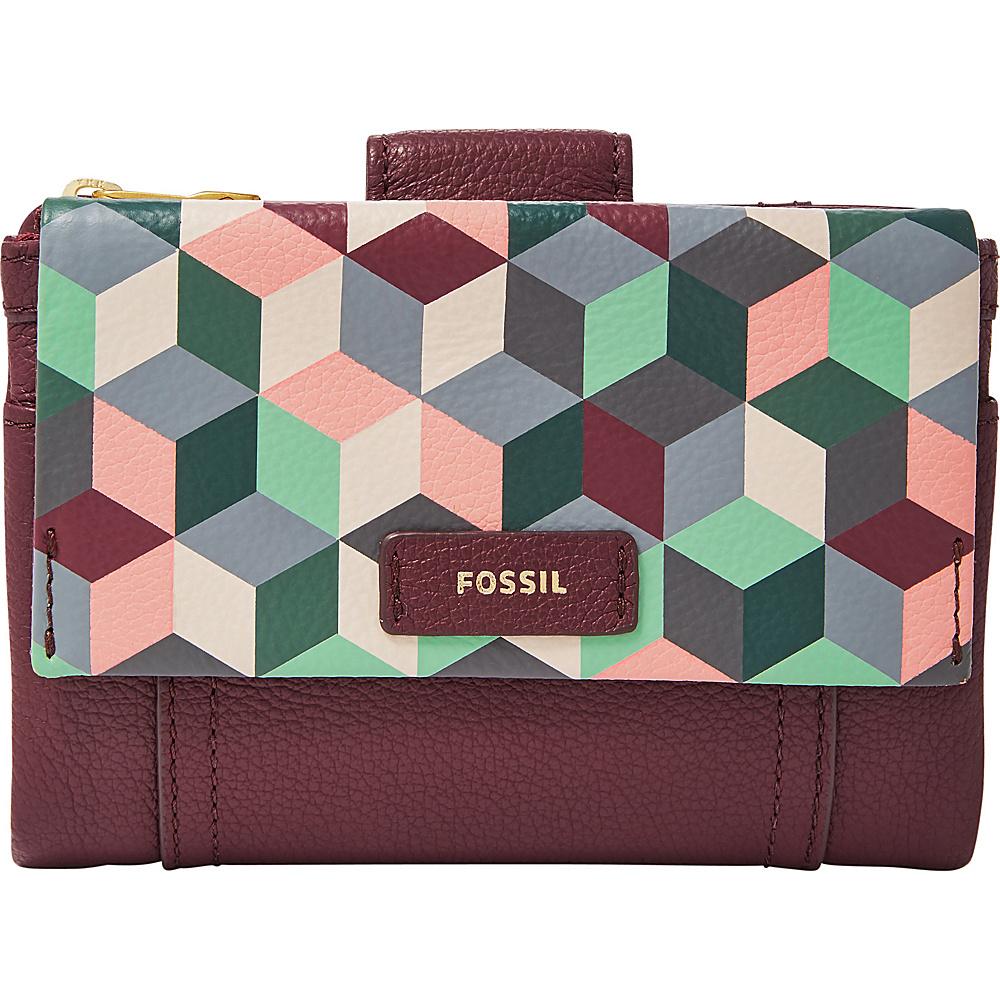 Fossil Ellis Multifunction Grey Multi - Fossil Womens Wallets - Women's SLG, Women's Wallets