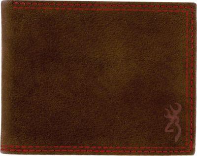 Browning Saddle Bi-Fold Wallet Tan - Browning Men's Wallets