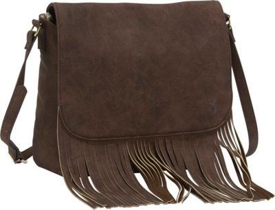 Browning Dakota Concealed Carry Shoulder Bag Brown - Browning Leather Handbags