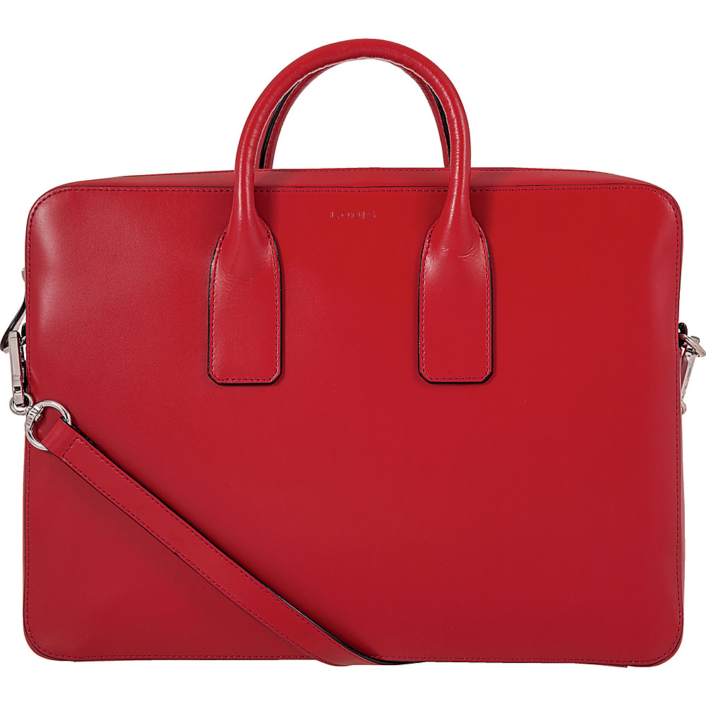 Lodis Audrey Cadee Laptop Crossbody - Discontinued Colors Red - Lodis Laptop Messenger Bags - Work Bags & Briefcases, Laptop Messenger Bags