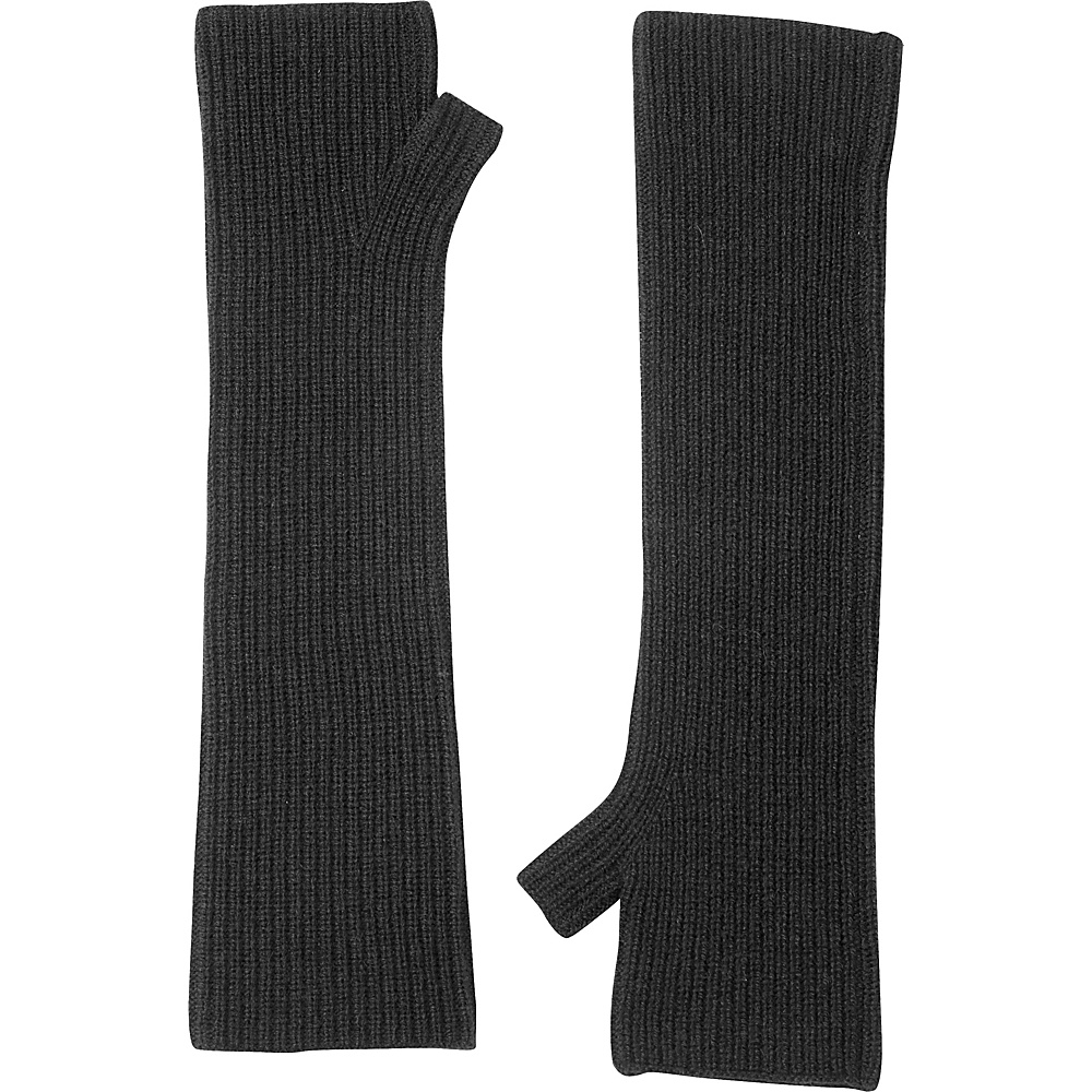 Kinross Cashmere Rib Texting Gloves One Size - Charcoal - Kinross Cashmere Hats/Gloves/Scarves - Fashion Accessories, Hats/Gloves/Scarves