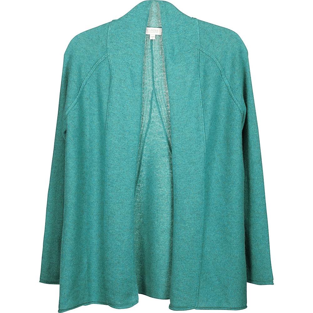 Kinross Cashmere Swing Back Cardigan XS - Fresca - Kinross Cashmere Womens Apparel - Apparel & Footwear, Women's Apparel
