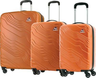Kamiliant Kanyon 3 Piece Hardside Spinner Luggage Set Sand - Kamiliant Luggage Sets