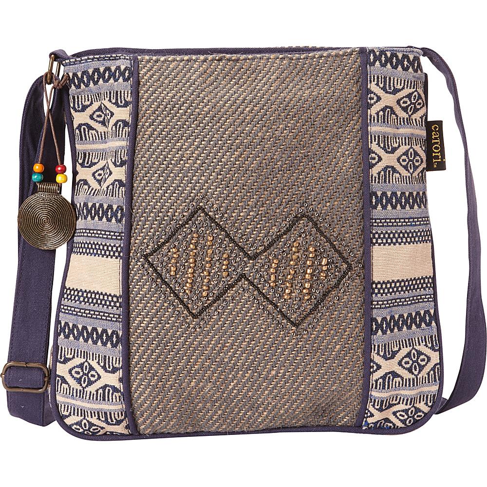 Sun N Sand Catori Parveen Crossbody Multi - Sun N Sand Fabric Handbags - Handbags, Fabric Handbags
