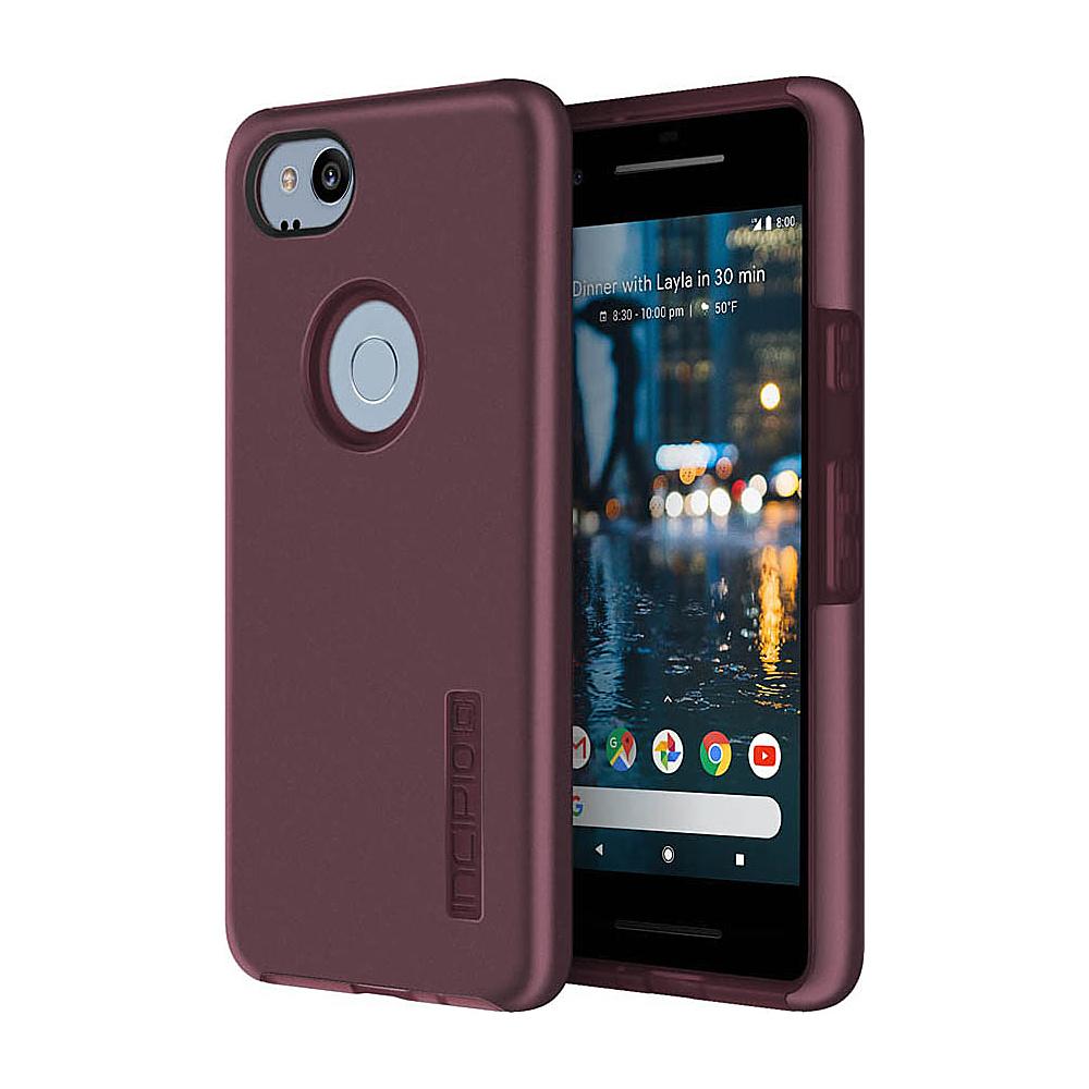 Incipio DualPro Case for Google Pixel 2 Merlot - Incipio Electronic Cases - Technology, Electronic Cases
