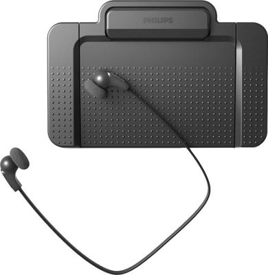 Philips Speech Speech SpeechExec Transcription Set Black - Philips Speech Portable Entertainment