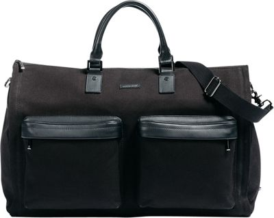 Hook & Albert Twill Gen. 2 Garment Weekender Bag Black - Hook & Albert Garment Bags