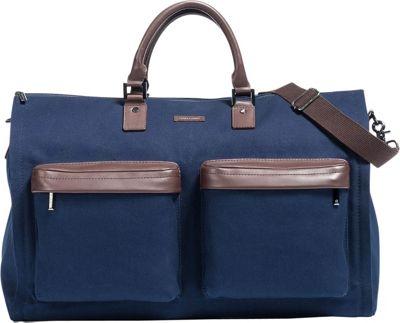 Hook & Albert Twill Gen. 2 Garment Weekender Bag Navy - Hook & Albert Garment Bags