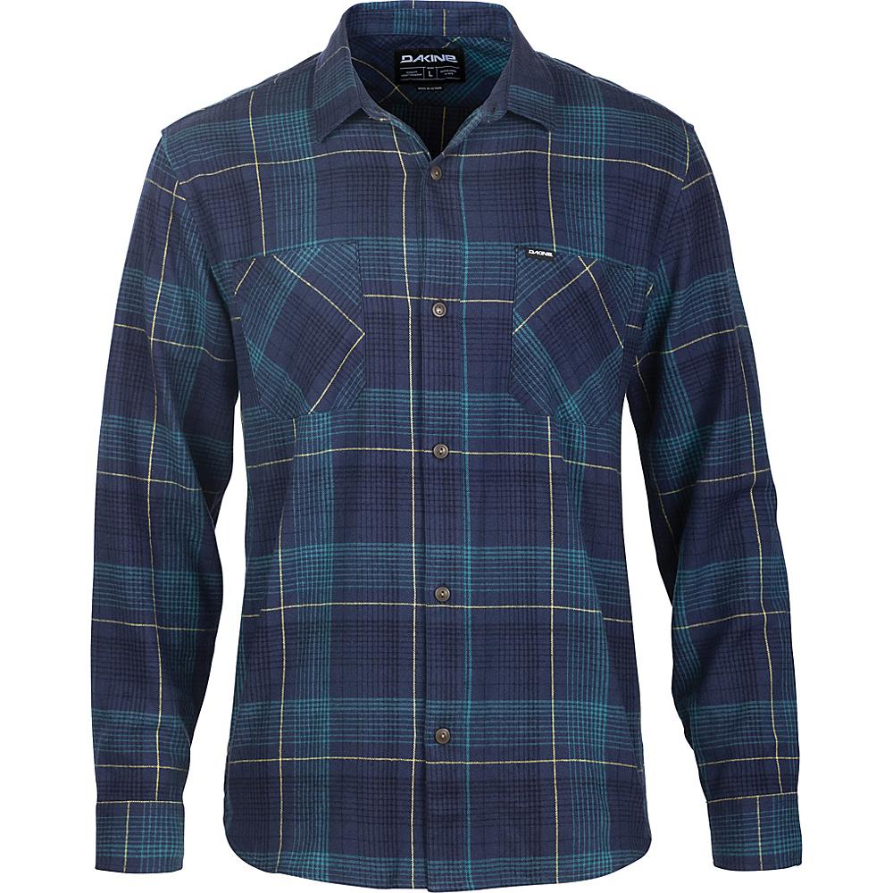 DAKINE Mens Franklin Flannel Shirt XXL - Midnight - DAKINE Mens Apparel - Apparel & Footwear, Men's Apparel