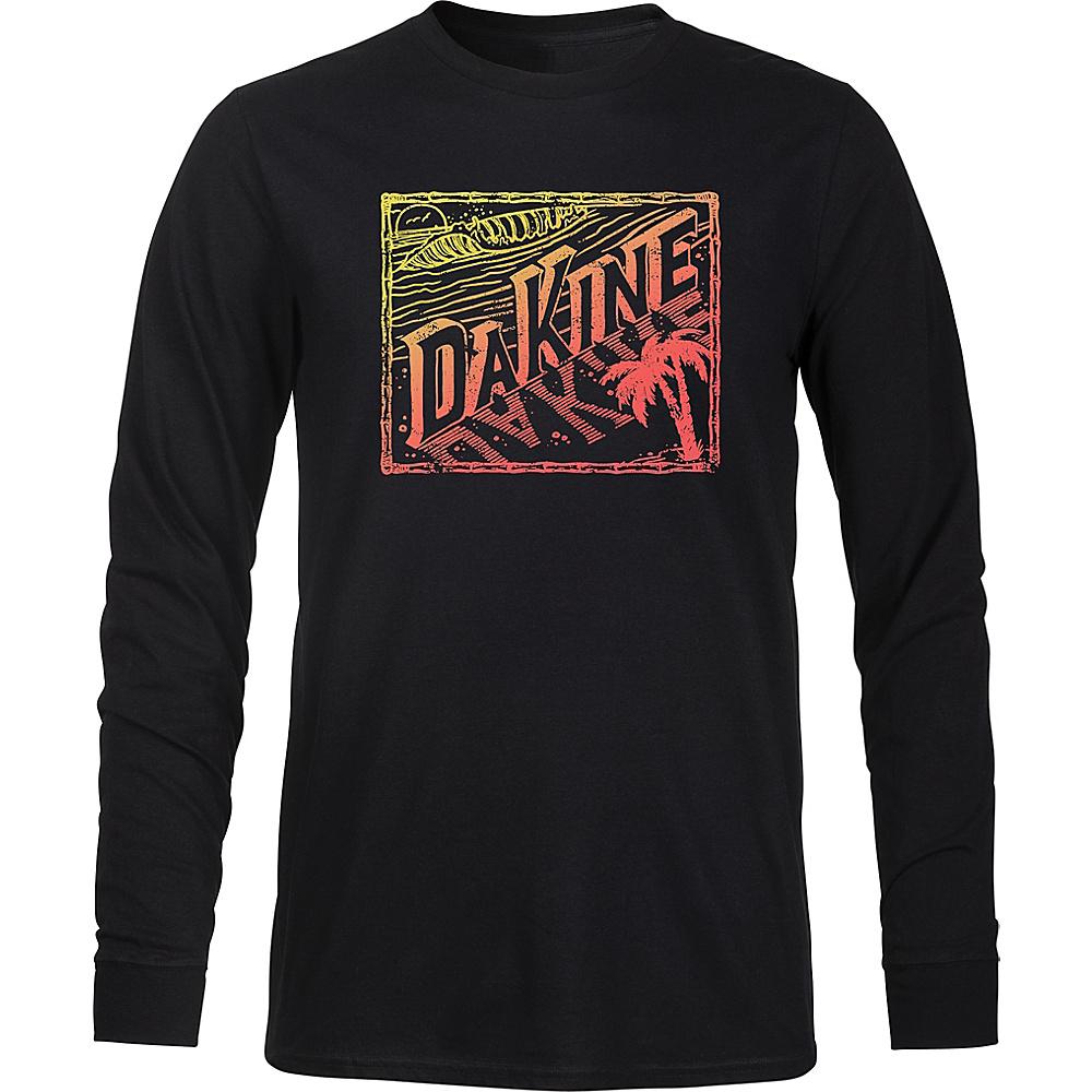 DAKINE Mens Da Beach Long Sleeve Shirt S - Black - DAKINE Mens Apparel - Apparel & Footwear, Men's Apparel