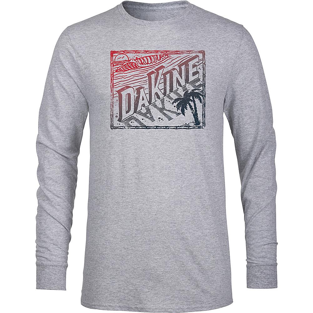 DAKINE Mens Da Beach Long Sleeve Shirt L - Grey Heather - DAKINE Mens Apparel - Apparel & Footwear, Men's Apparel
