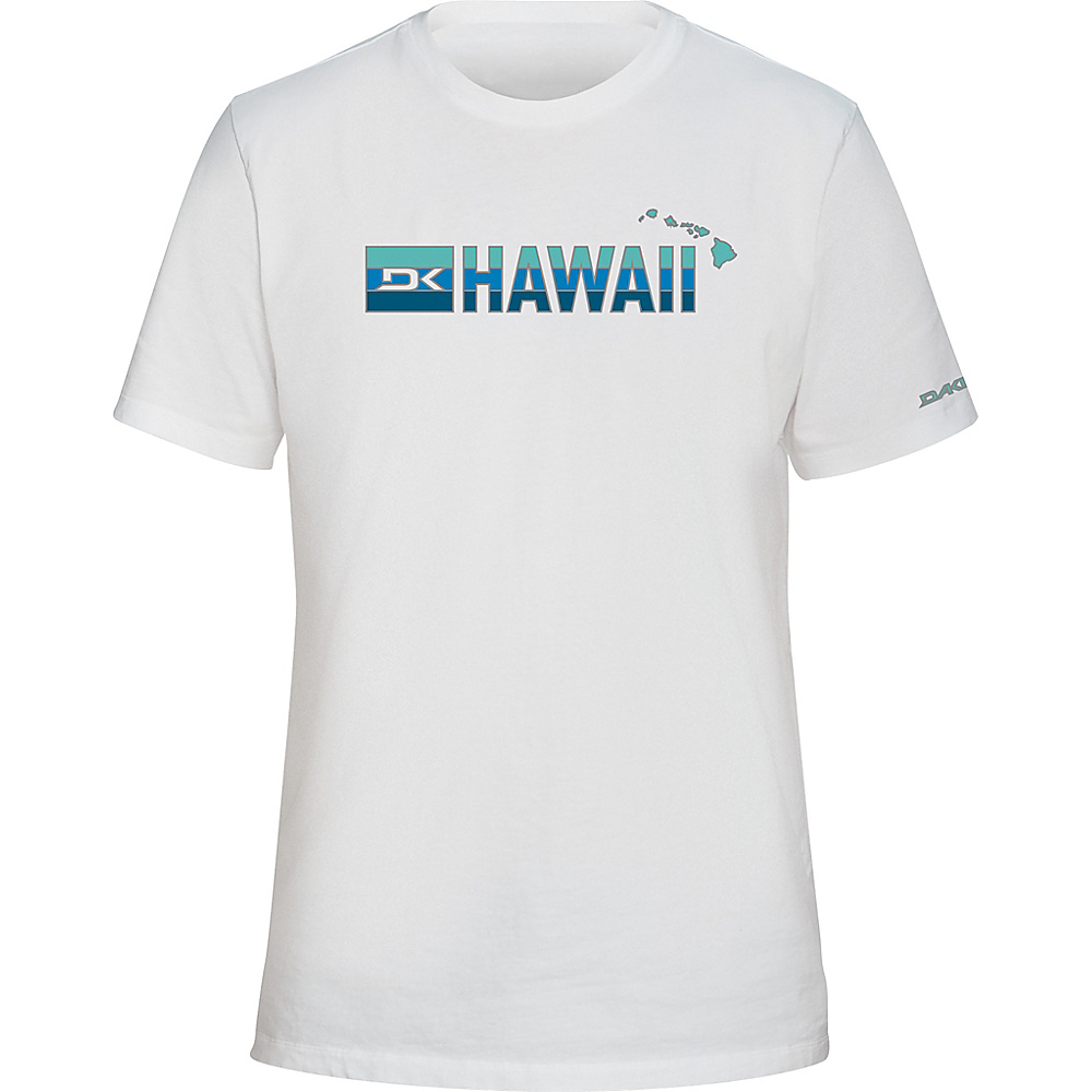 DAKINE Mens Da Hawaii T-Shirt XL - White - DAKINE Mens Apparel - Apparel & Footwear, Men's Apparel