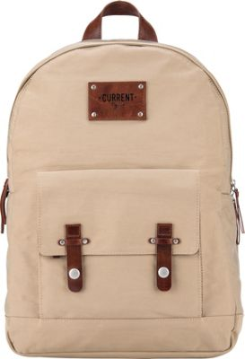 Current Bag Co Classic Charging Backpack Desert - Current Bag Co Everyday Backpacks