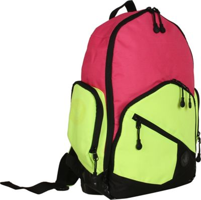 BODY GLOVE Long Lat Crescent Laptop Backpack Pink Multi - BODY GLOVE Long Lat Business & Laptop Backpacks