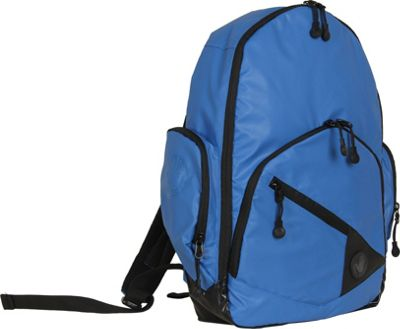 BODY GLOVE Long Lat Crescent Laptop Backpack Blue - BODY GLOVE Long Lat Business & Laptop Backpacks