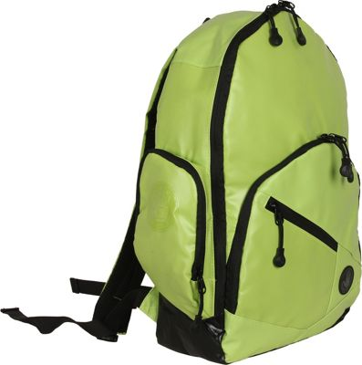 BODY GLOVE Long Lat Crescent Laptop Backpack Green - BODY GLOVE Long Lat Business & Laptop Backpacks