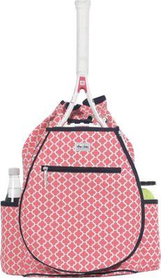 Ame & Lulu Kingsley Tennis Backpack Clover - Ame & Lulu Racquet Bags
