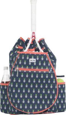 Ame & Lulu Kingsley Tennis Backpack Pineapple - Ame & Lulu Racquet Bags