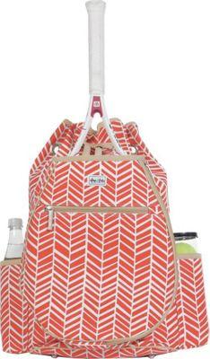 Ame & Lulu Kingsley Tennis Backpack Tango - Ame & Lulu Racquet Bags