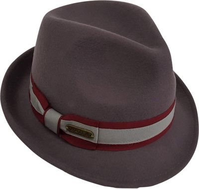Hatch Hats Cabby Fedora One Size - Grey - Hatch Hats Hats/Gloves/Scarves