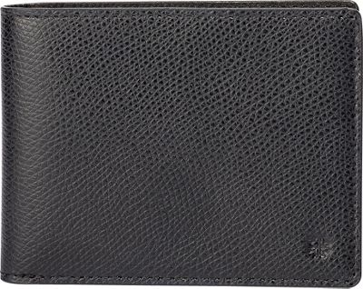 Hook & Albert Leather Bi-Fold Wallet BLK-LTH - Hook & Albert Men's Wallets