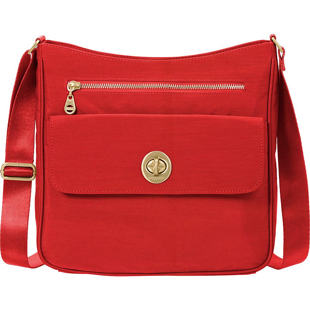 baggallini Antalya Top Zip Flap Crossbody Hibiscus - baggallini Fabric Handbags - Handbags, Fabric Handbags