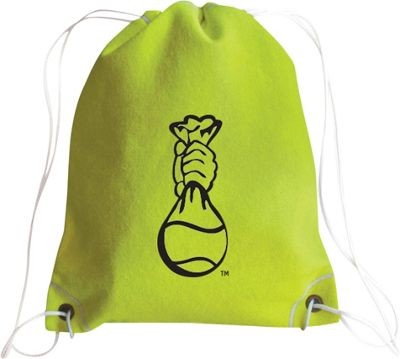 Zumer Tennis Drawstring Bag Tennis yellow - Zumer Everyday Backpacks