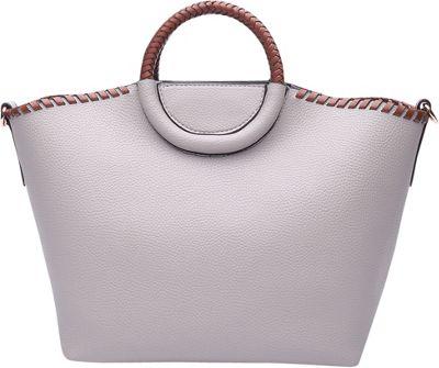 STYLE STRATEGY Ida Convertible Crossbody Light Grey - STYLE STRATEGY Manmade Handbags