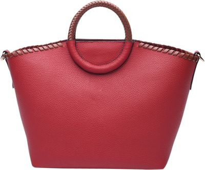 STYLE STRATEGY Ida Convertible Crossbody Red - STYLE STRATEGY Manmade Handbags