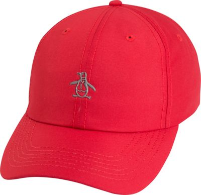 Original Penguin Pre-Curved Baseball Cap One Size - Red - Original Penguin Hats/Gloves/Scarves