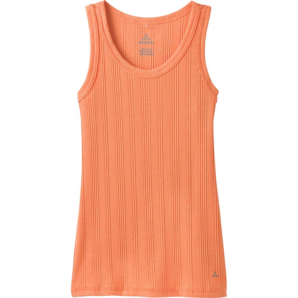 PrAna Purest Tank XS - Orange Haze - PrAna Womens Apparel - Apparel & Footwear, Women's Apparel